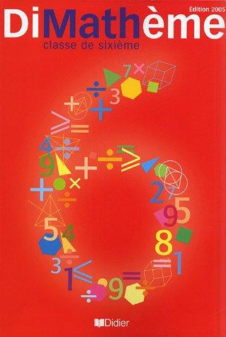 Maths 6e DiMathème