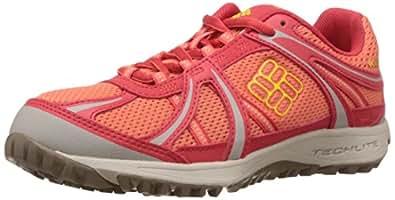 Columbia  CONSPIRACY SWITCHBACK, Chaussures de randonnée femme - Orange - Orange (Coral Flame, Laser Lemon 800), 42 EU