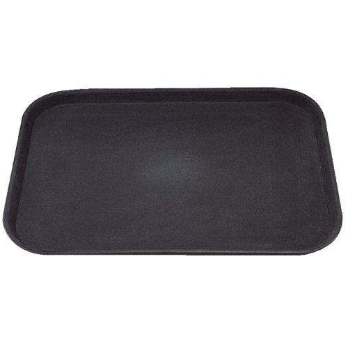 Kristallon C559 Rectangular Anti-Slip Tray, Plastic, Black Test