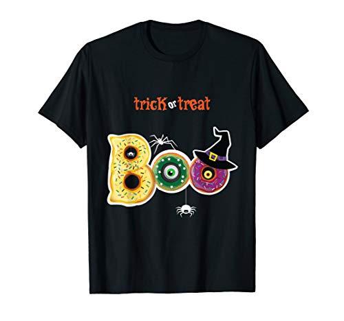 Lustiger Boo-Halloween-Trick Leckerei-T-Stück Spinnen-Kürbis (Hausgemachte Kinder Skelett Kostüm)