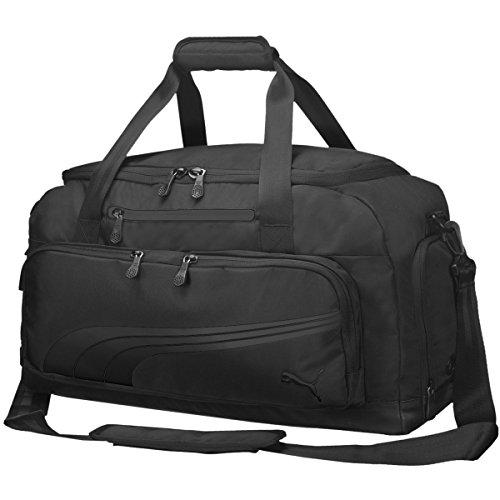Puma Form Stripe Duffel Bag - black, Größe Puma:OSFA -