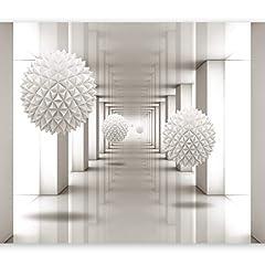 Idea Regalo - murando - Fotomurali - 400x280 cm - Carta da parati sulla fliselina - Carta da parati in TNT - Quadri murali XXL - Fotomurale - Astratto 3D a-A-0149-a-b