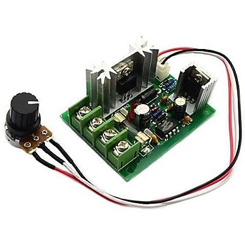 Jtron 12V / 24V / 30V 120W / centralina CCM5 PWM del motore DC Controller di velocità w/ fusibili