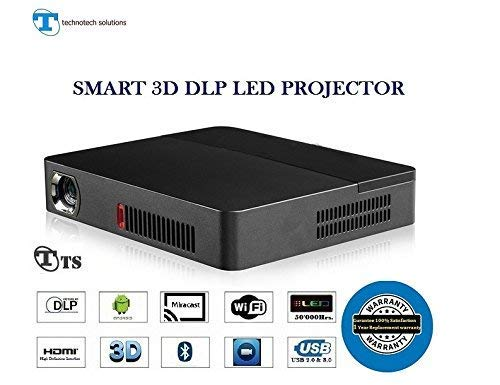 "TS Projector, TS-HD19D,3200 LUMENS,250""INCH DLP 3D & 4K Ultra Video Support Projector"