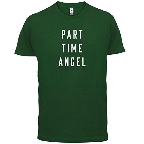 Teilzeit Engel - Herren T-Shirt - 13 Farben Flaschengrün