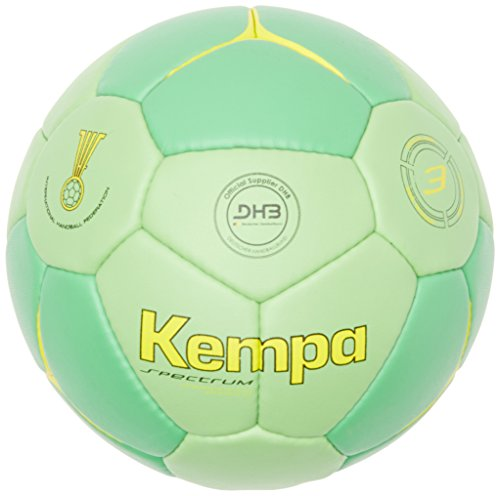 Kempa Unisex Erwachsene Ball Spectrum Competition Profile Grün/Fluo Gelb, 3