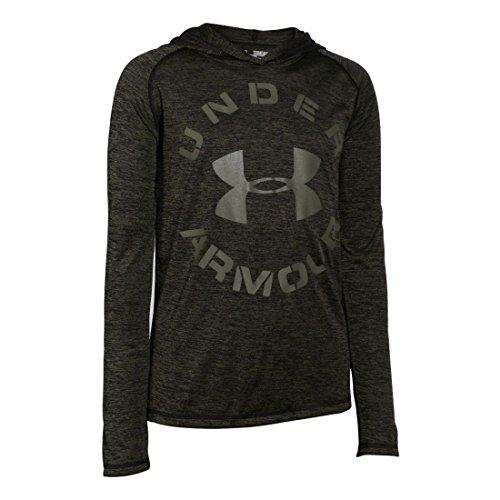 Under Armour Tech T-Shirt/Chemise de sport pour enfant Black/Greenhead