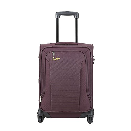 Skybags Footloose Napier Polyester 66 cms Raisin Softsided Suitcase (STNPW66ERRN)
