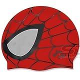 Spiderman Swimming Silicone Swim Head Cap
