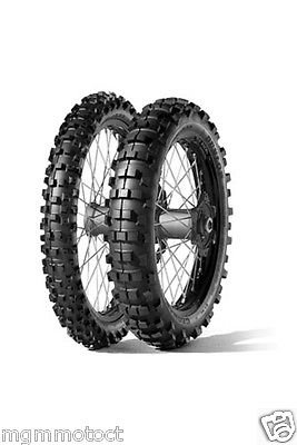 Pneumatiques Paire Pneu Dunlop geomax enduro 90/90 21 54R 140/80 18 70R