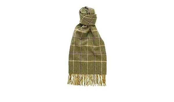 Green Check Hogarth Lambswool Scarf