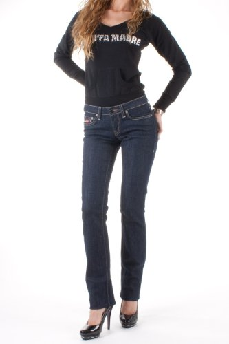 Clink damen jeans blu scuro alicepr di 01 dunkelblau 36