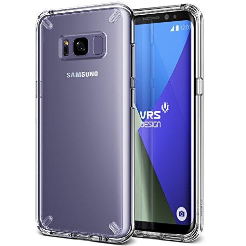 Galaxy S8 Plus Hülle, VRS Design® Schutzhülle [Transparent] Transparent Schlagfesten Stoßstangen Durchsichtige Rückschale Case TPU Bumper Handyhülle Clear Hard Back Cover [Crystal Mixx] für Samsung Galaxy S8 Plus 2017