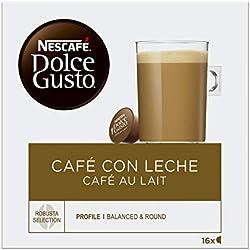 2 de Nescafé Dolce Gusto - Café Con Leche - Cápsulas de Café - 16 Cápsulas