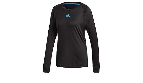 adidas Escouade T Shirt de Tennis à Manches Longues pour