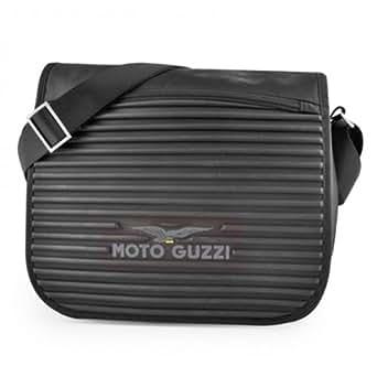 Moto guzzi - Besace bandoulière gomme - Taille Taille unique - Couleur Noir