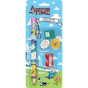 Anker Adventure Time Bleistift- und Radiergummi-Set