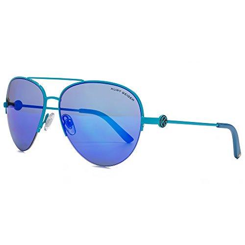 Emeco Lunettes de pilote bleu miroir 3210RVS PqYaB