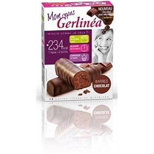Gerlinéa Barres Repas Chocolat 372g - ( Prix Unitaire ) - Envoi Rapide Et Soignée