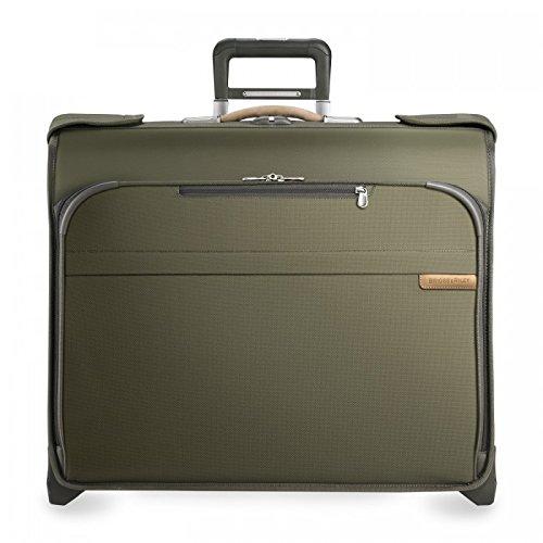 Briggs & Riley  Kleidertasche Baseline Deluxe Wheeled Garment Bag Grün 82 L (Bag Garment Haken)
