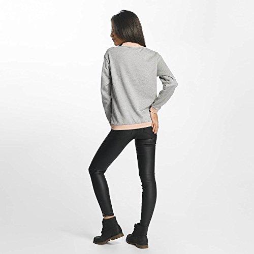 Vero Moda Femme Hauts / Sweat & Pull vmIsabella Rib Stripe Gris