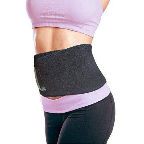 Fett-brenner Rücken Unteren (Taille Trimmer für Herren & Damen–Gewicht Verlust Wrap–Untere Lendenwirbelstütze &–Workout Sauna Anzug Magen Fett Brenner–Schwangerschaftsgürtel)