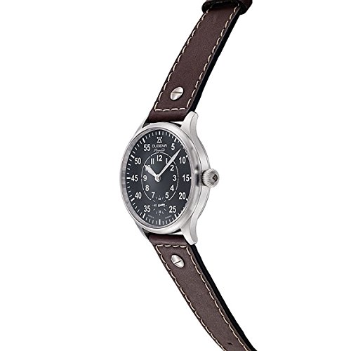 Dugena Men Hand Driven Watch with Black Dial Analogue