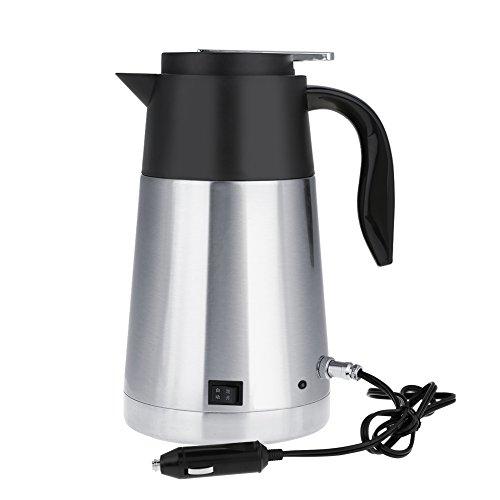 1300 ML Auto Wasserkocher, 12 V / 24 V Edelstahl Auto Lkw Reise Wasserkocher Schnell Kochendes Wasser Heizung Topf Beheizte Wasser Tasse(24V -LKW) -