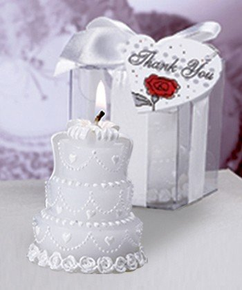 Candela torta sposi