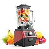 2200W Commercial Blender, BESTEK Powerful Multi-Function Blender, 2L BPA-Free Jug, Pre Programmed for:
