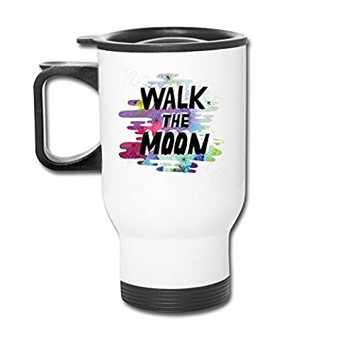 Cups Insulation White Walk The Moon Pop Rock Band Tumblers Travel Mugs Coffee Thermos