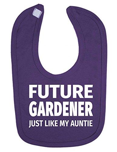 Future Gardener Just Like My Auntie mignon nouveau-né bébé Bavoir Bébé
