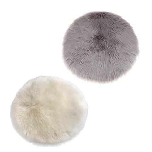 Sharplace set di 2 tappetino del pavimento del poliestere tocco morbido tappeto artificiale di pecora