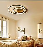 LED Deckenleuchte Wohnzimmer lampe Dimmbar mit Fernbedienung Deckenlampe Modern Decke Schlafzimmer lampe Acryl Lampenschirm Aluminium Design-Lampe für Esszimmer lampe Bürolampe Küche Decken Licht 69W