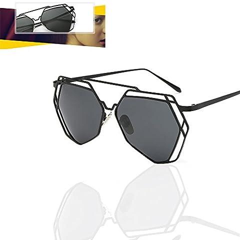 Gzmy Polarisierte Sonnenbrillen, multilaterale Schattierungen, Ultralight, Herren- und Damen-Sonnenbrillen, HD Polarisierte Linsen Polarisierte Sonnenbrillen