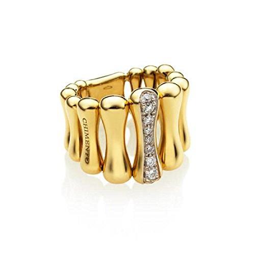Anello Chimento Bamboo 1A05894B1214013.0_0 Oro Giallo Diamante taglia 13.0