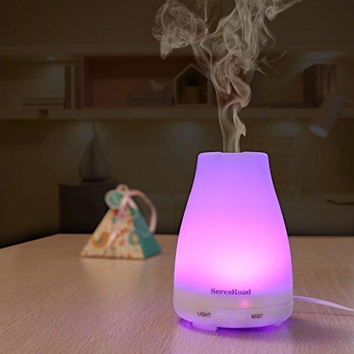 Aroma Diffuser Luftbefeuchter mit LED Farbwechsel ohne Lärm - 9