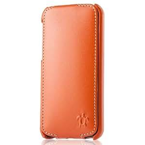 Issentiel IS54855 Prestige Series Leather Case for iPhone 5C - Orange