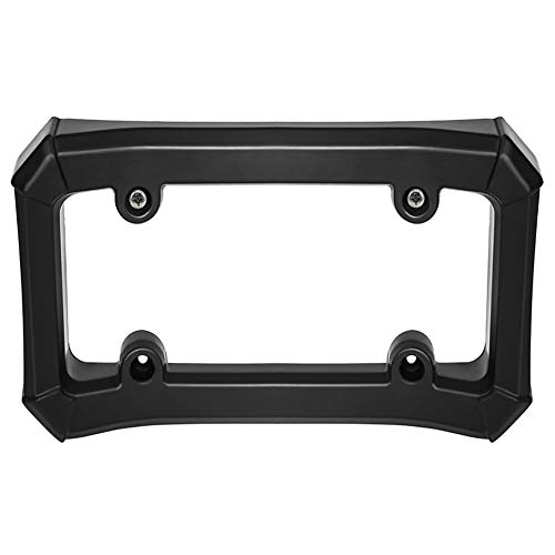 Equickment Number Plate Holder Car License Plate Frame Eva Tag Cover Auto Front Bumper Guard Protector - Tags Plate Frame