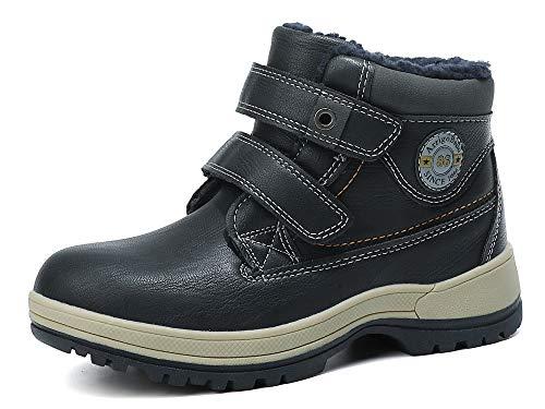 ABTOP Botas Niño Niña Botines Zapatos Invierno Botas de Nieve Cálido Fur Forro Aire Libre Boots Escuela...