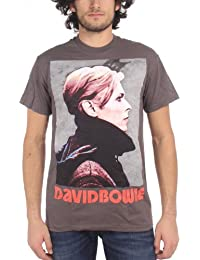 David Bowie - Low Profile Mens T-Shirt In Charcoal