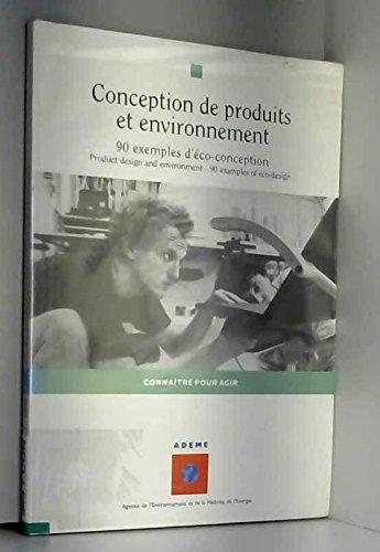 Conception de produits et environnement, 90 exemplaires d'éco-conception