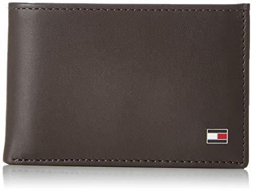Tommy Hilfiger Herren ETON MINI CC FLAP & COIN POCKET Mappe, Braun (Brown 041), 11x7x2 cm (Tommy Hilfiger Tasche Braun)