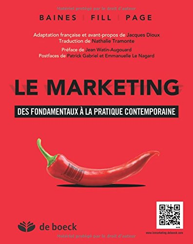Le marketing : Des fondamentaux à la pratique contemporaine par Paul Baines