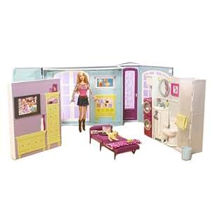 Mattel m0059 la casa di barbie con barbie inclusa amazon for Casa barbie prezzi