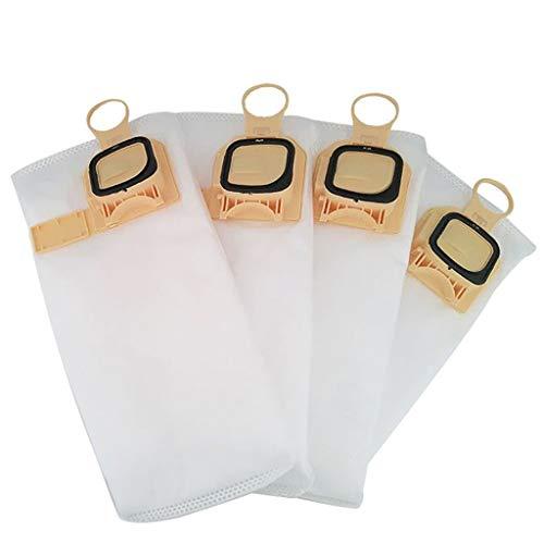 CAOQAO Sac Haute Filtration Hygiene Sachet Filtre Papier pour Aspirateurs Eau Et PoussièRes 4 Sacs Aspirateur Nouveau Kit D'Accessoires De Remplacement pour Vorwerk VK140 VK150 Aspirateur