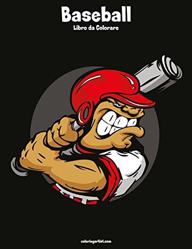 Zoom IMG-2 baseball libro da colorare volume