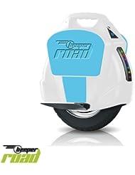 Beeper R1-BB - Monociclo electrónico, color Azul/Blanco