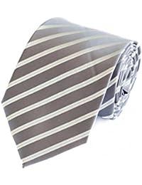 Fabio Farini Cravate moderne 8 cm largeur, différentes couleurs à choisir