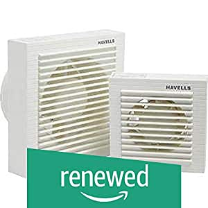 (Renewed) Havells Ventilair 150mm Exhaust Fan with Window (White)